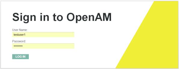 OpenAMLoginScreen